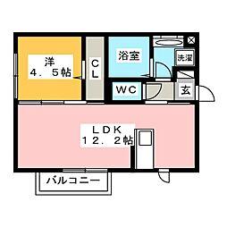 仮)D-room井原町 B