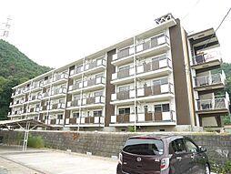 岡山県備前市大内の賃貸アパートの外観