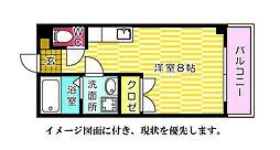第2石田ビル--[303号室]の間取り