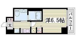 エステムプラザ神戸・大開通ルミナス[902号室]の間取り