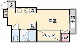 兵庫県神戸市灘区篠原台16の賃貸マンションの間取り