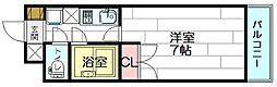セレクト江坂[2階]の間取り