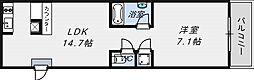 アクアプレイス大阪レジェンド[11階]の間取り