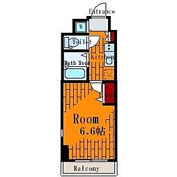 ヴェルト亀戸II[6階]の間取り