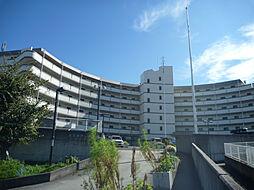 大阪府富田林市五軒家1丁目の賃貸マンションの外観