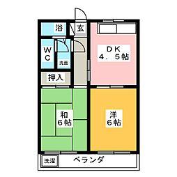 丸石ビルII[2階]の間取り