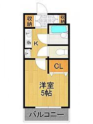 ステラハウス15[1階]の間取り