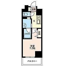 グランドール新宿[3階]の間取り