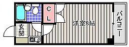 神藤レジデンス[5階]の間取り