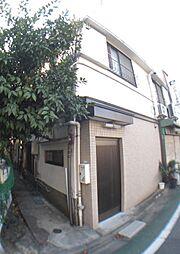 東京都文京区本駒込5丁目の賃貸アパートの外観