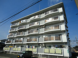 福岡県北九州市若松区栄盛川町の賃貸マンションの外観