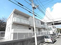 兵庫県神戸市垂水区福田5丁目の賃貸アパートの外観