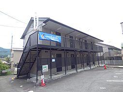 京都府京都市山科区日ノ岡鴨土町の賃貸アパートの外観