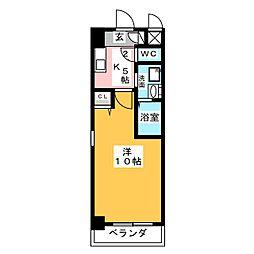 KIAORA (キオーラ)[7階]の間取り