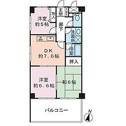 エクセルコート140[4階]の間取り