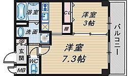仮称)豊中市中桜塚マンション[204号室]の間取り