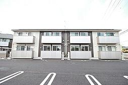 群馬県伊勢崎市宮子町の賃貸アパートの外観