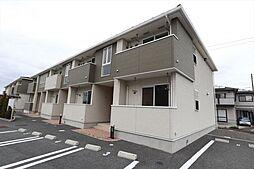 広島県東広島市黒瀬町南方の賃貸アパートの外観