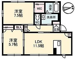 Maison H・A[1階]の間取り