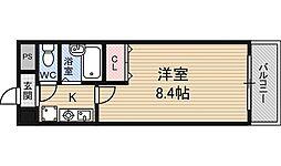 ピュアハウス[4階]の間取り