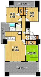 JR鹿児島本線 西小倉駅 バス6分 金田2丁目下車 徒歩4分の賃貸マンション