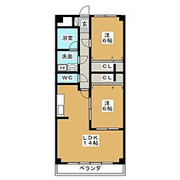 AMI加納 I[2階]の間取り