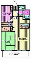 埼玉県さいたま市大宮区天沼町2丁目の賃貸マンションの間取り