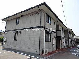岡山県倉敷市西富井の賃貸アパートの外観