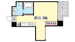 エスキュート魚崎[5階]の間取り