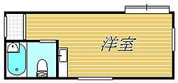 TCRE初台B棟[1階]の間取り