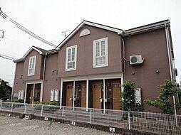 愛知県長久手市岩作落合の賃貸アパートの外観