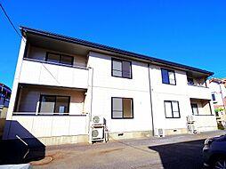 東京都東村山市恩多町2丁目の賃貸アパートの外観