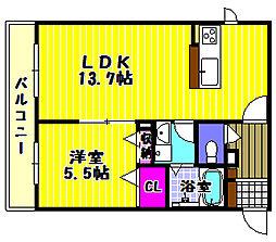 Ambiera千代田[2階]の間取り