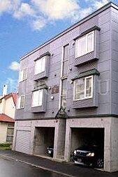 北海道札幌市豊平区月寒東四条8丁目の賃貸アパートの外観