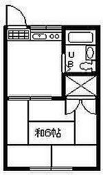 ストリーム52[102号室]の間取り