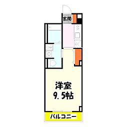 東京都足立区堀之内1丁目の賃貸マンションの間取り