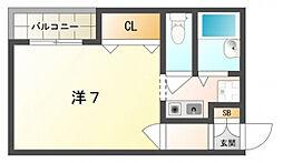 エクセル原口[2階]の間取り
