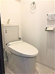 シャワー付きトイレ完備