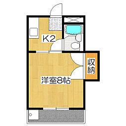メゾンヴェール21[1階]の間取り