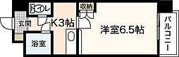 エステートベネフィットフルタ[7階]の間取り