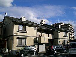 京都府京都市南区久世大薮町の賃貸アパートの外観