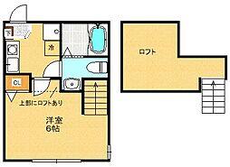 N-Flat[205号室]の間取り