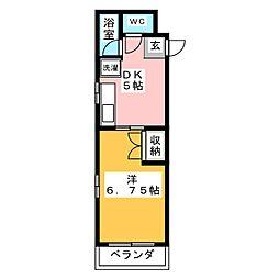 キモトビル[3階]の間取り
