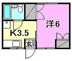 土居田駅 1.7万円