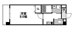 スプランディッド新大阪III[504号室]の間取り