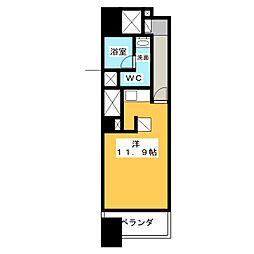 ドゥーエ大須[2階]の間取り