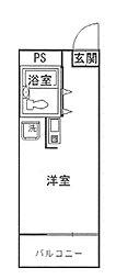 サンマリーナ西八王子[7階]の間取り