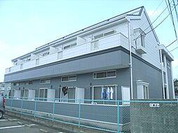 福岡県福岡市東区松崎1丁目の賃貸アパートの外観
