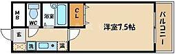 ビオス京橋[9階]の間取り