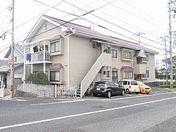 広島県広島市西区井口台2丁目の賃貸アパートの外観
